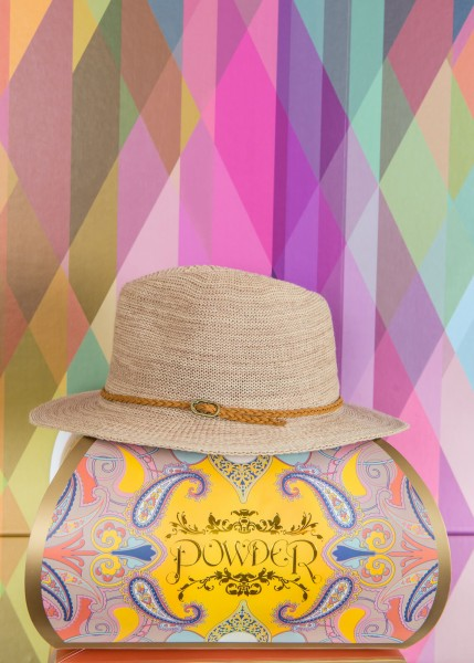 Powder Adjustable Sun Hat Beige