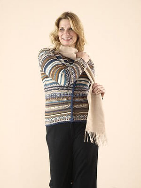 The Alpaca Collection Cardigan Helena