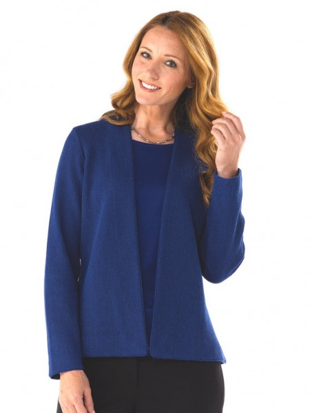 Artisan Route Anna Alpaca Cardigan Royal Blue