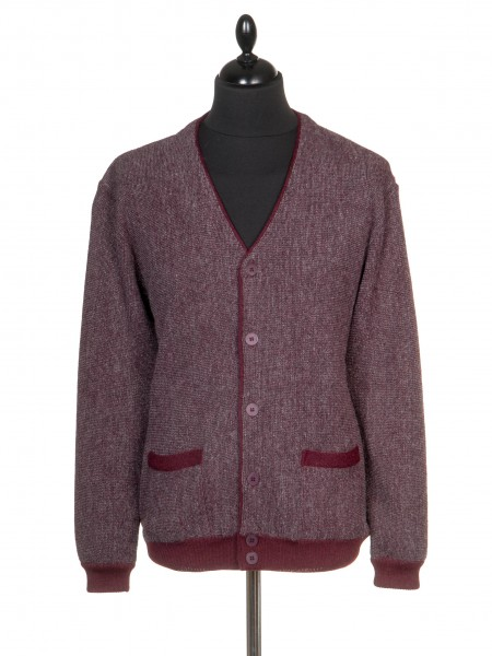 The Alpaca Collection Cardigan Repton Red