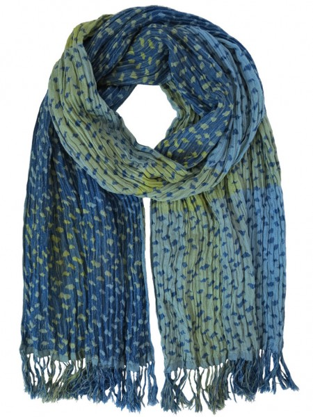 Hand Woven Silk Scarf Sublime Mix