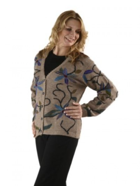 The Alpaca Collection Paulina Cardigan