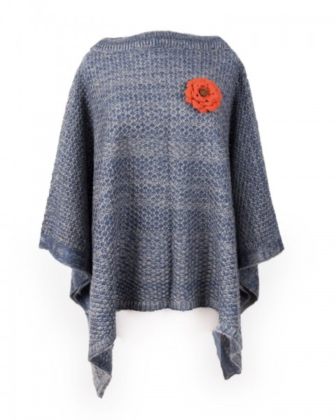 Powder Sophie Poncho Navy