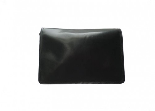 Nova Leather Shoulder Handbag Black Style -0501
