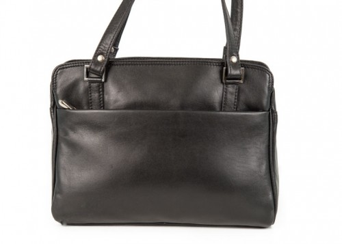 Nova Leather Shoulder handbag Black Style - 0519