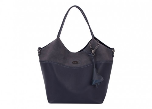 David Jones Large Shoulder Bag Dark Blue