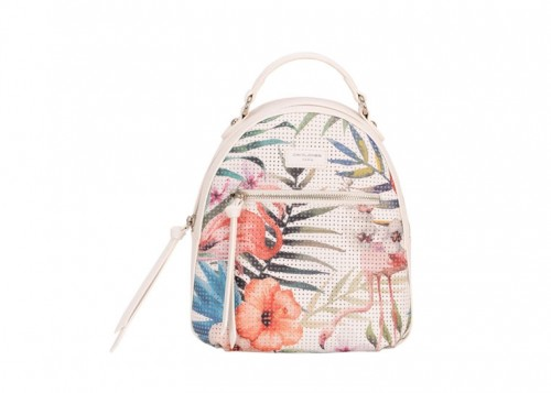 David Jones Tropical Backpack White