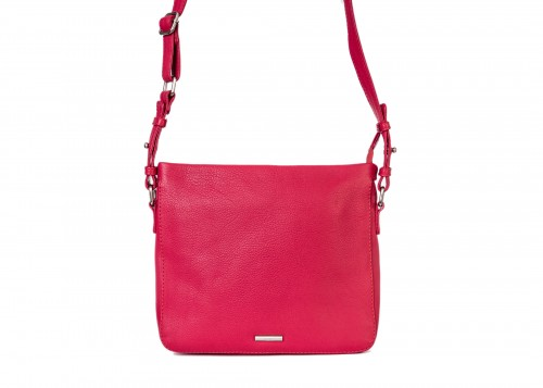 Nova 801 Leather Crossbody Handbag Poppy