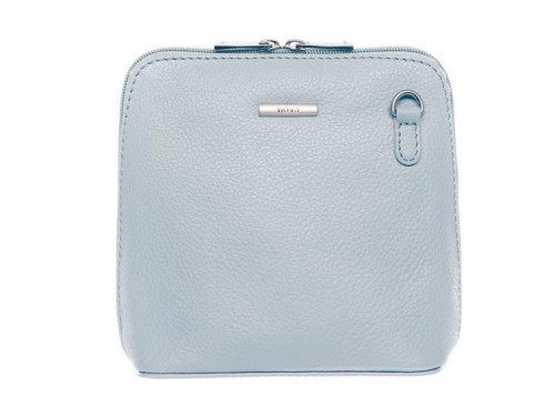 Nova Leather Cross Body Handbag Light Blue 820