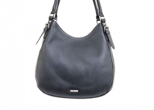 Nova 875 Leather Shoulder Handbag Black