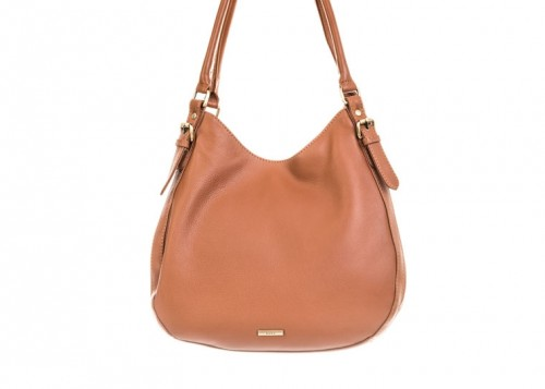 Nova 875 Leather Shoulder Handbag Cognac