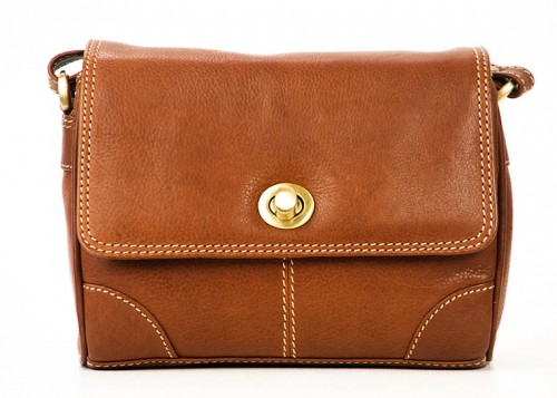Nova Leather Handbag Tan-911
