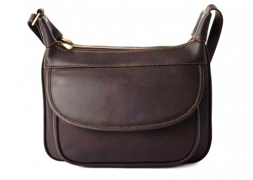 Nova Leather Handbag Brown - 916