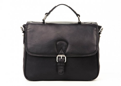 Nova Leather Handbag Black-934