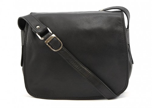 Nova Leather Handbag Black - 935