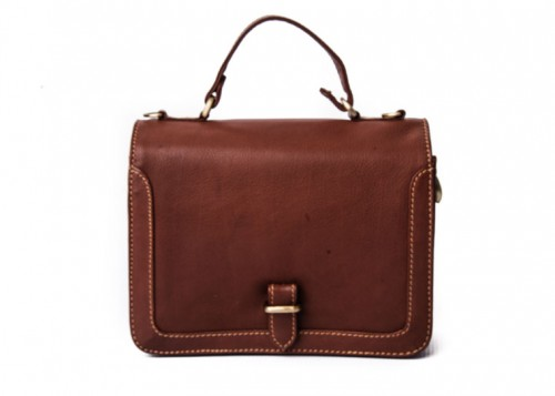 Nova Leather Satchel Hnadbag Tan Style - 973