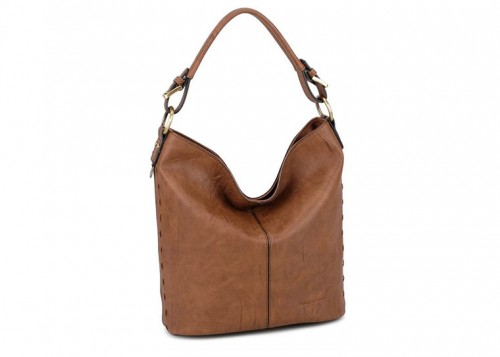 David Jones Handbag Hobo Slouch Brown