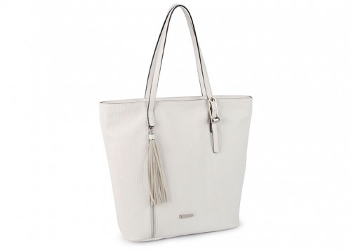 David Jones Shopper Handbag White