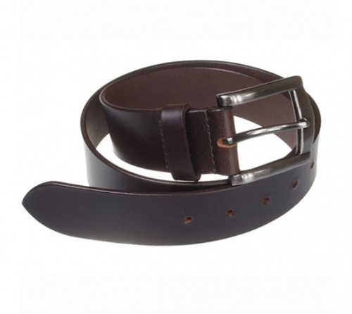 Charles Smith Leather Jeans Belt Brown