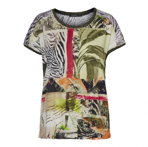 Godske Jungle Print T-Shirt
