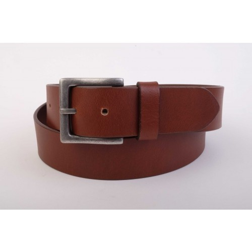 Charles Smith Thick Leather Belt Tan