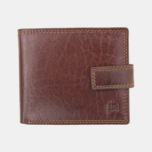 Primehide Leather RFID Wallet Brown 4151