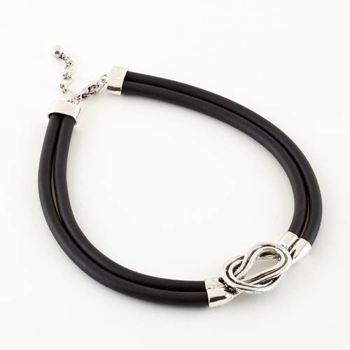 Dante Leather Look Necklace