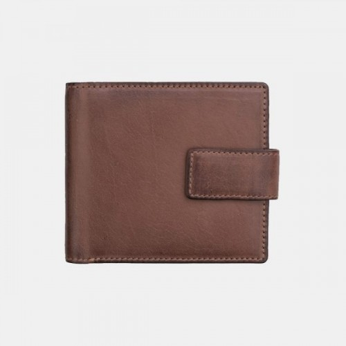 Primehide Ridgeback Leather RFID Compact Wallet