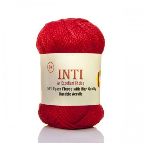 Alpaca Inti Yarn Red