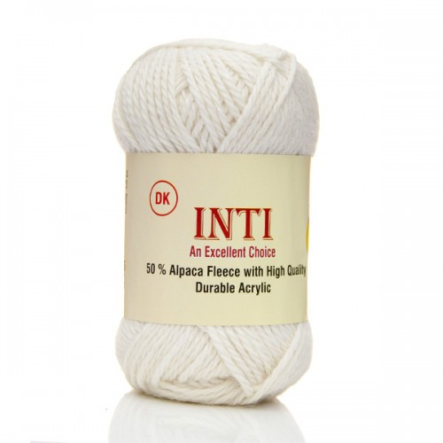Alpaca Acrylic Inti Yarn Natural