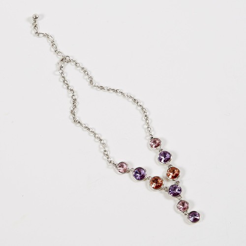 Dante Necklace Purple Gems