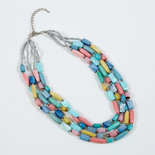 Dante Necklace Multi Pastel