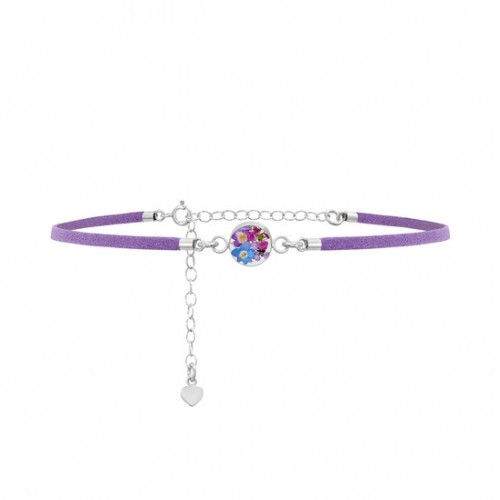 Shrieking Violet Purple Haze Lilac Choker