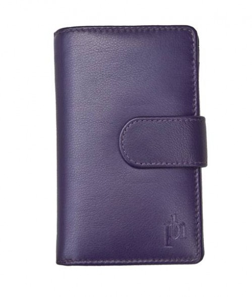 Primehide Windermere Inside Flap Purse Purple 22808