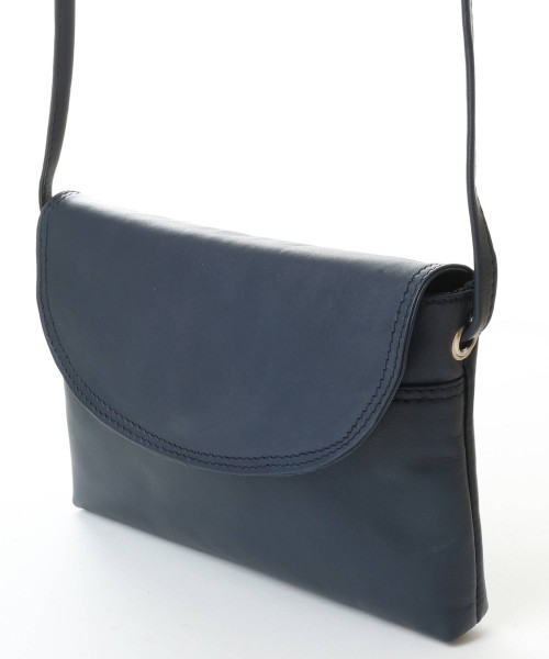 Nova Leather Cross Body Handbag Navy Style - 0592E