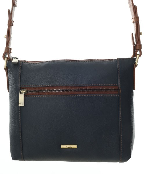 a52fb2261422 Nova 882 Leather Cross Body Handbag Navy   Chestnut in Nova Leather  Handbags Range