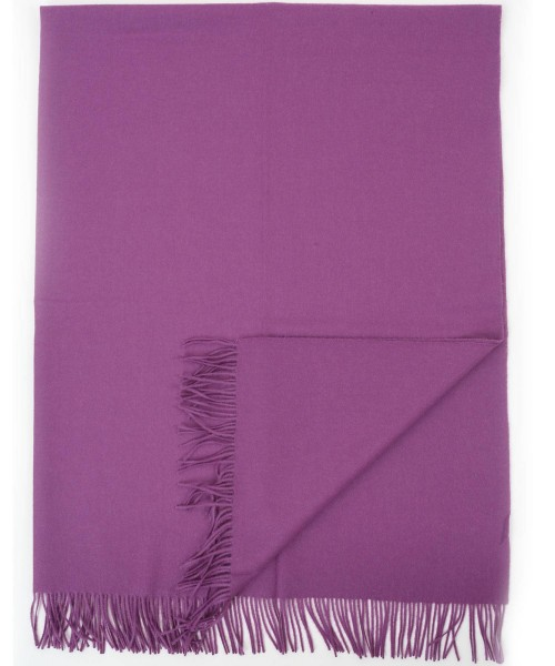 Alpaca Blanket / Throw Purple