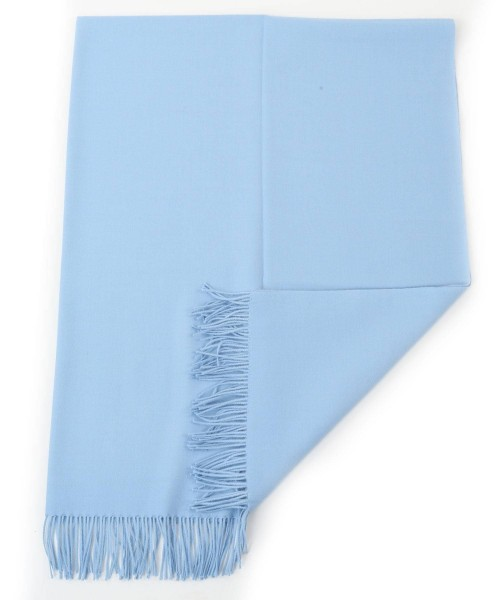 Alpaca Blanket/Throw Powder Blue