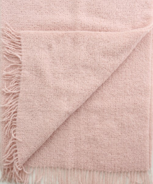 alpaca boucle blanket throw pale pink in alpaca clothing co range. Black Bedroom Furniture Sets. Home Design Ideas