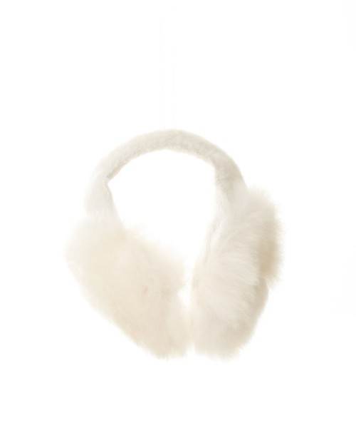 Alpaca Ear Warmers White