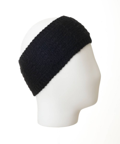 alpaca headband black