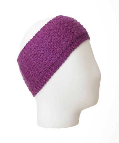 alpaca headband purple
