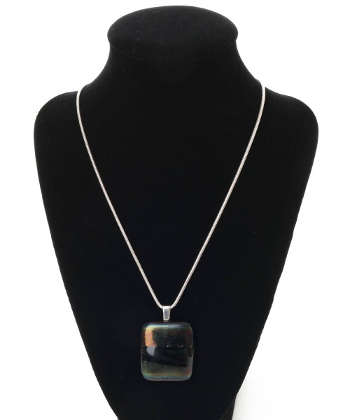 Scott Irvine Iridescent Black Pendant