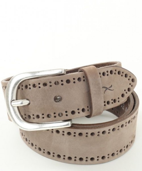 Brax Leather Belt Taupe
