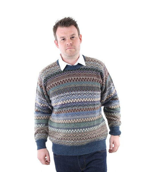 The Alpaca Collection Alfred Jumper Blue