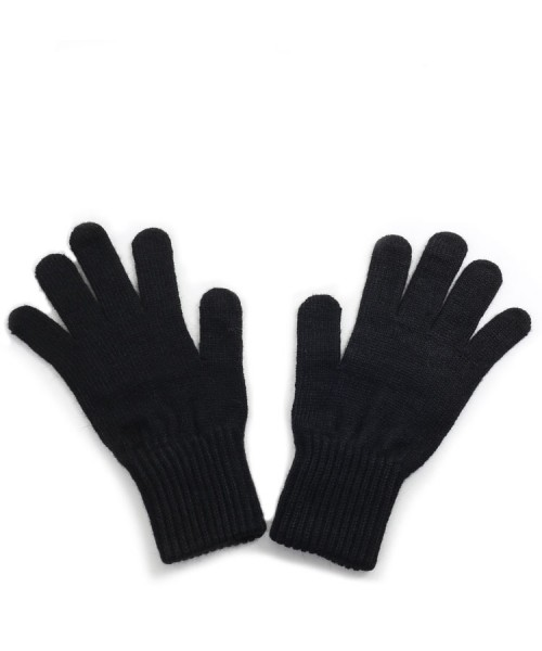 Alpaca Gloves Black