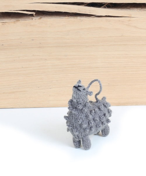 Alpaca Decoration Grey