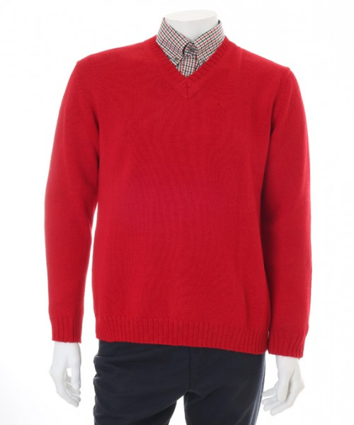 The Alpaca Collection Jumper Andrew Red