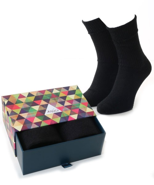 Alpaca Sock Box Everyday Black