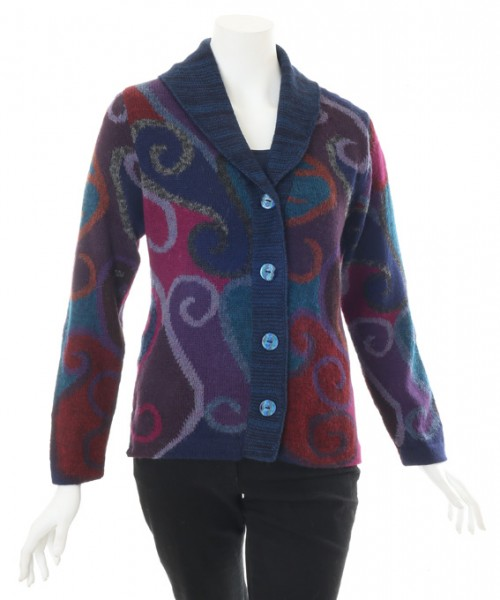 The Alpaca Collection Carol Cardigan